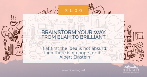 Brainstorm Your Way From Blah to Brilliant!