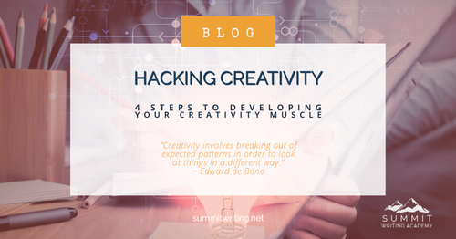 Hacking Creativity - 4 Steps to Developing Your Creativity Muscle