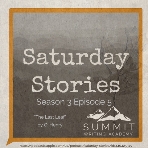 Saturday stories podcast art