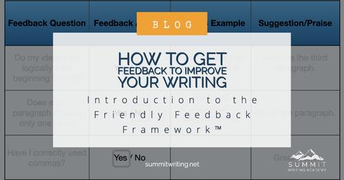 The Friendly Feedback Framework™